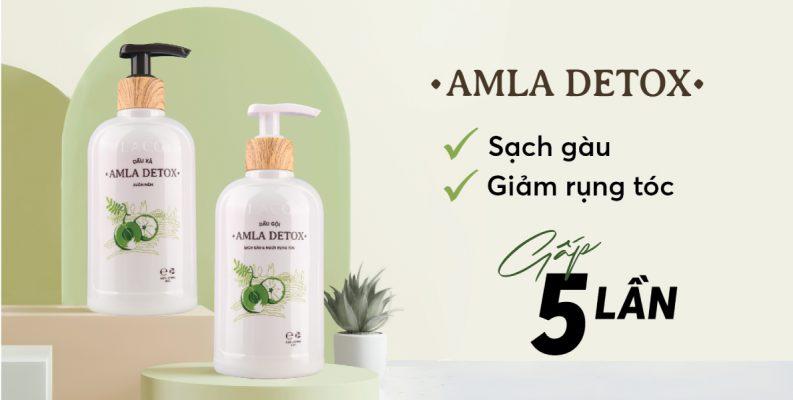 Bộ đôi dầu Gội - Xả Amla Detox Laco