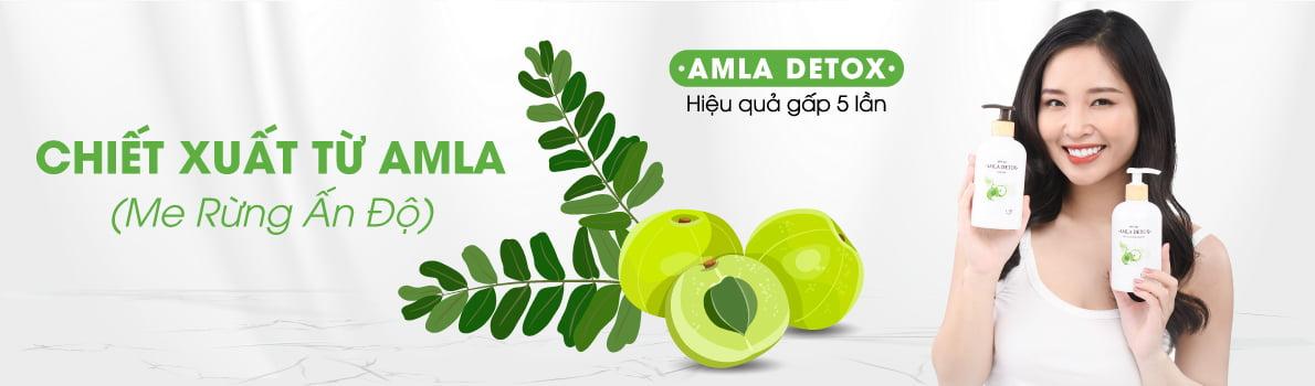 Amla Detox - Chiết xuất từ Me Rừng Ấn Độ